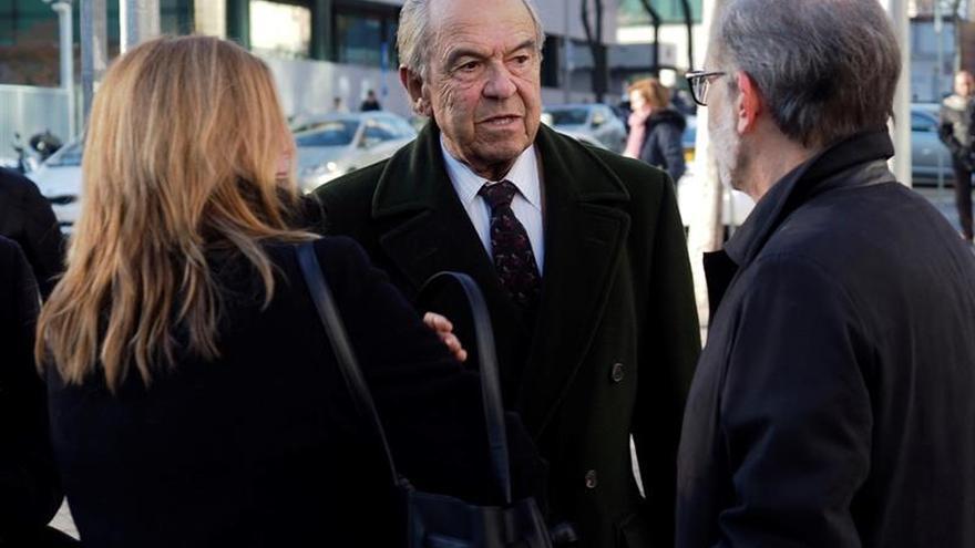 El expresidente de Bankinter Jaime Botín, a su llegada al Juzgado de lo Penal número 27 de Madrid