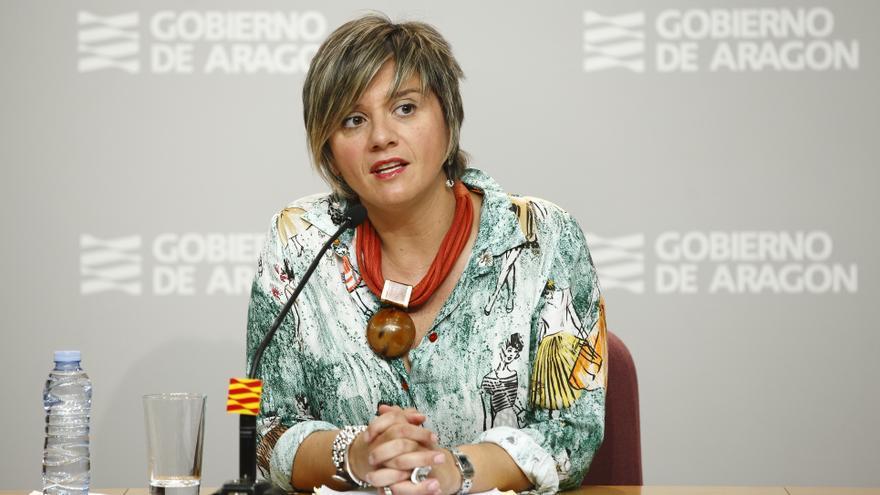 La directora general de Vivienda del Gobierno de Aragón, Mayte Andreu.