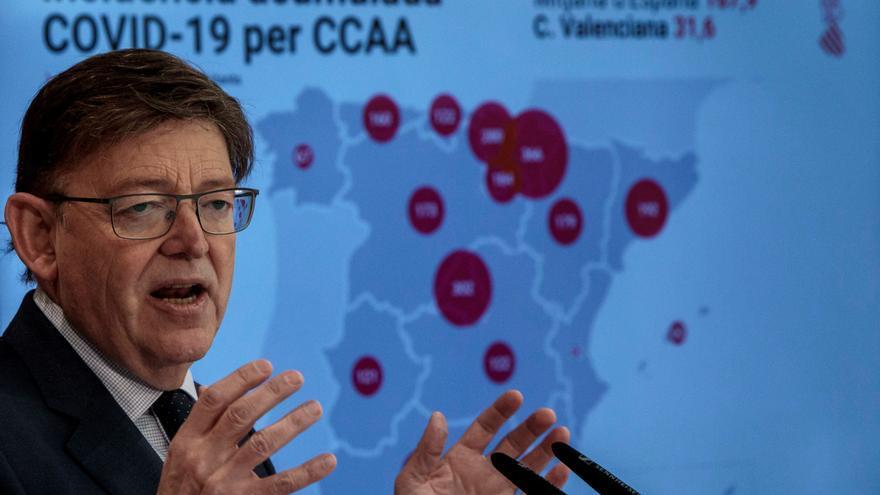 Puig defiende su lealtad al Gobierno tras su reunión con las farmacéuticas