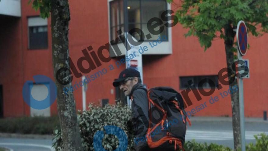 El ex jefe de ETA, Josu Ternera, justo antes de su detención.