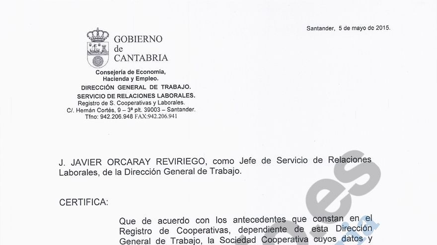 Imagen de uno de los documentos a los que ha tenido acceso eldiario.es a través de la plataforma Filtrala.