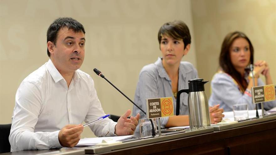 Podemos presidirá las Cortes de Aragón tras acordarlo los grupos de izquierda