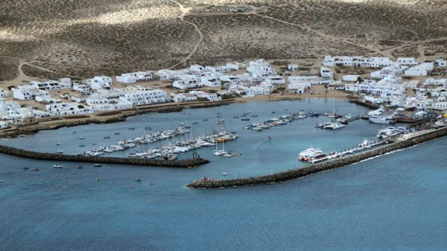 Muelle de La Graciosa (Diario de Lanzarote)