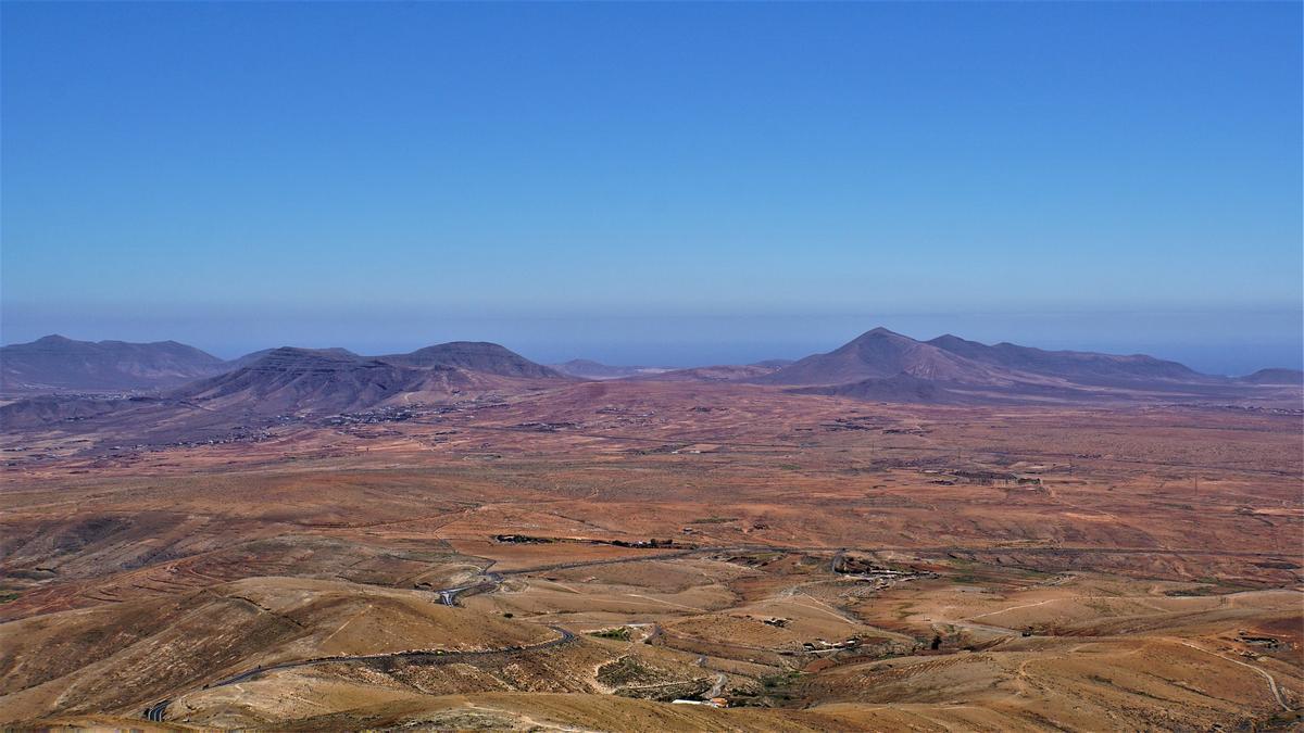 Paisaje de la isla de Fuerteventura