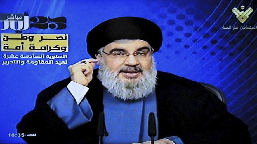 El líder de Hizbulá dice que su brazo armado vencerá a Israel y al yihadismo