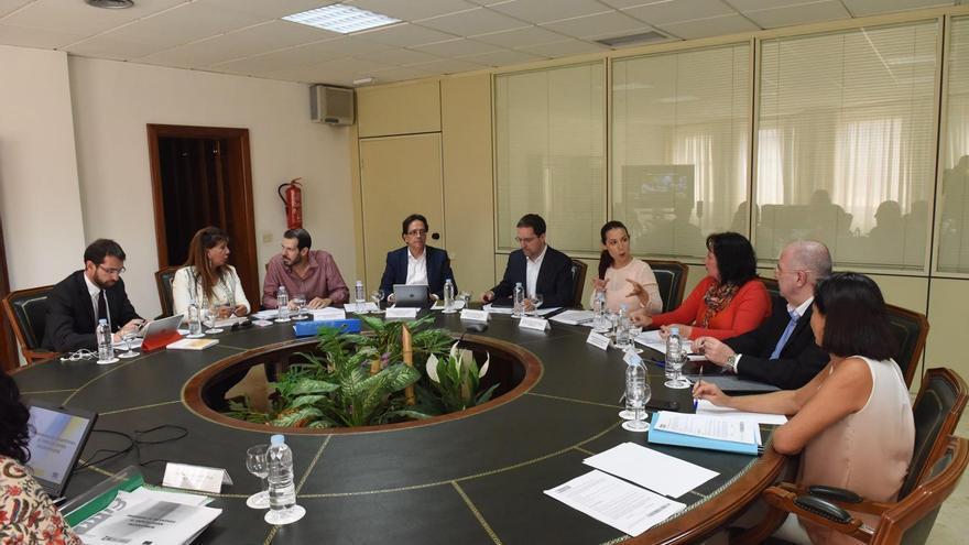 Reunió del Consejo General de Empleo, presidido por Patricia Hernández.