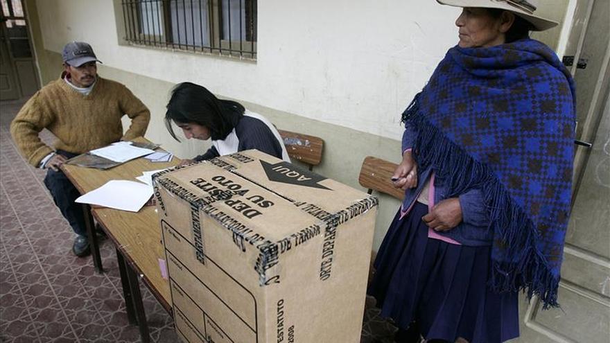 Dos regiones bolivianas elegirán a gobernadores en una inédita segunda vuelta