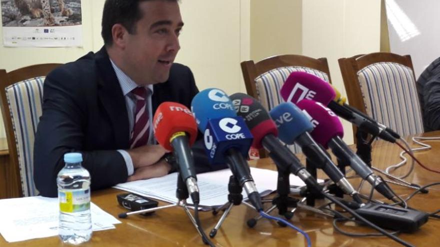 El viceconsejero de Medio Ambiente, Sergio David González