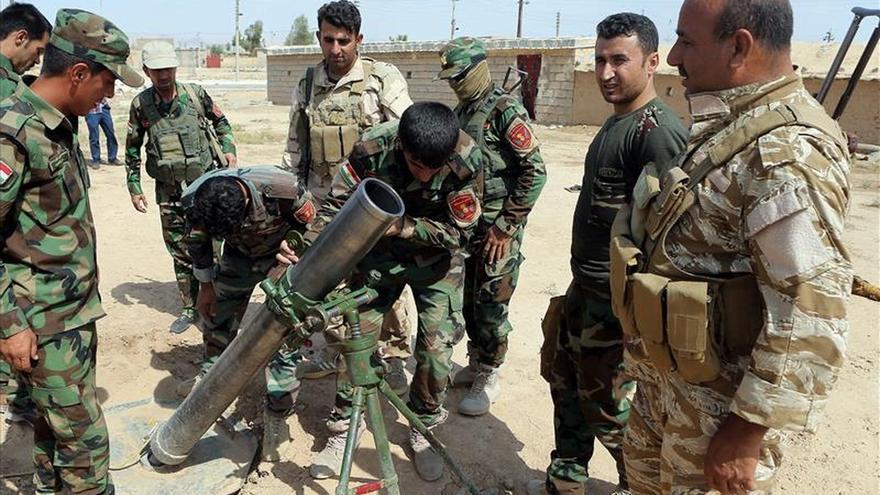 """Mueren 22 yihadistas y cuatro """"peshmergas"""" en combates cerca de Mosul (Irak)"""