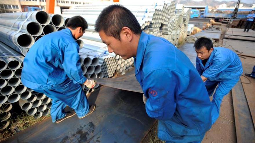La industria china gana un 22,7 por ciento más hasta mayo