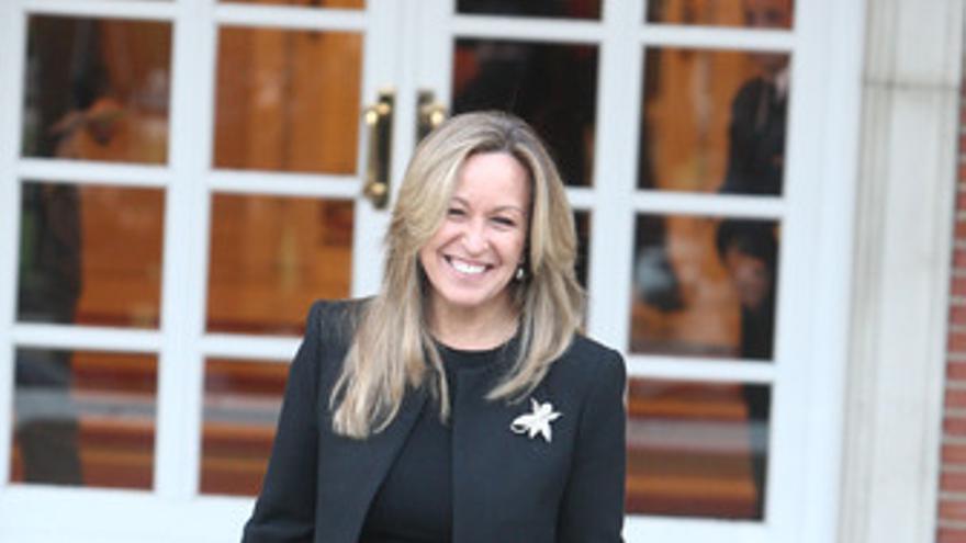 Ministra de Asuntos Exteriores, Trinidad Jiménez