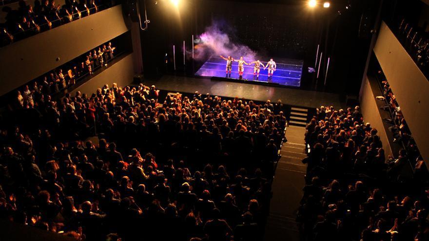 La sala de La Rambleta donde se celebrarán las dos actuaciones de Mongolia.