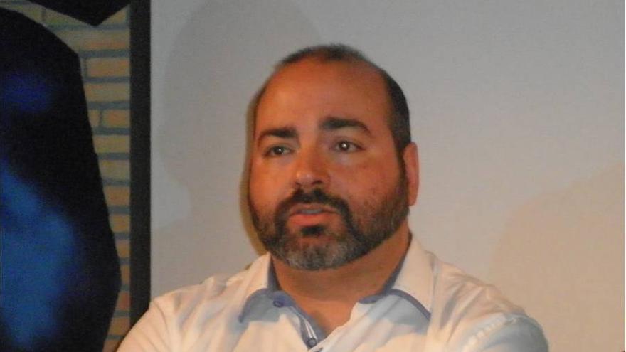 Sergio Puente, candidato a la secretaría general de Podemos en el Archipiélago por En Canarias Podemos.