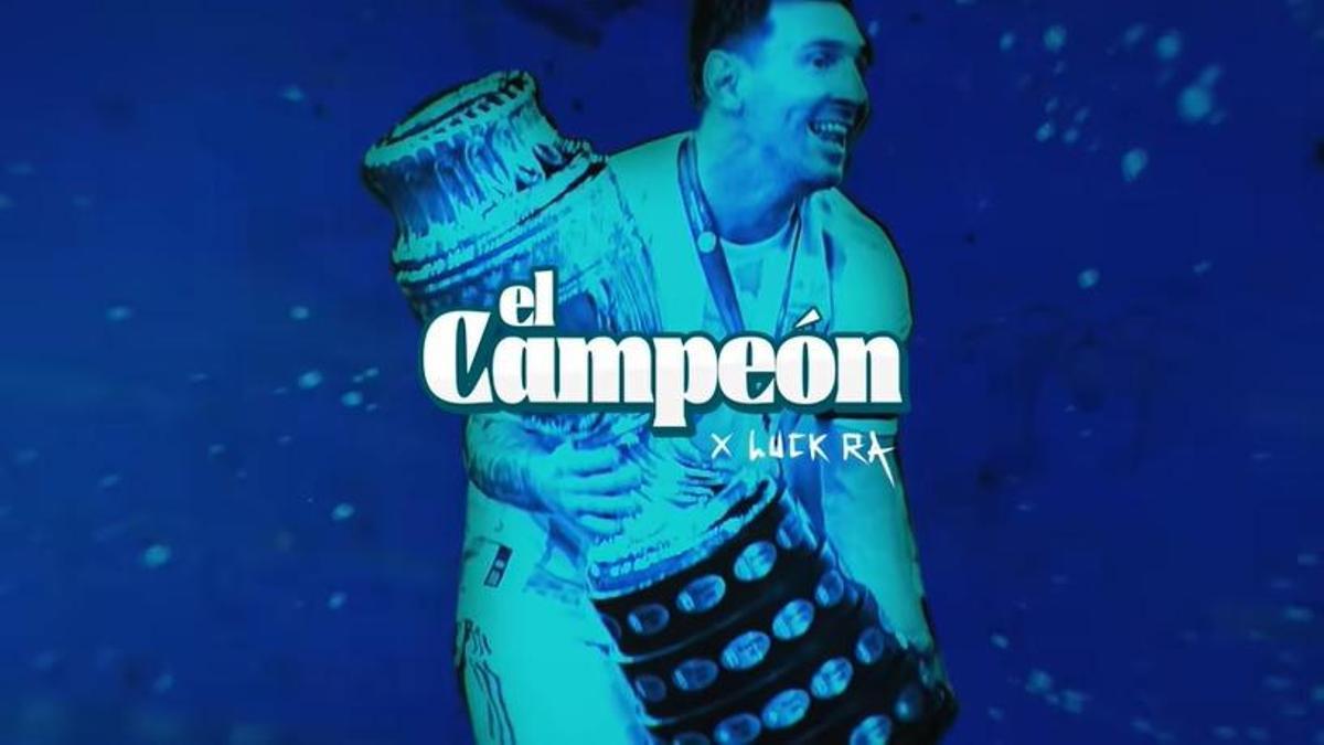 El Campeón, de Luck Ra, nuevo himno del seleccionado argentino.