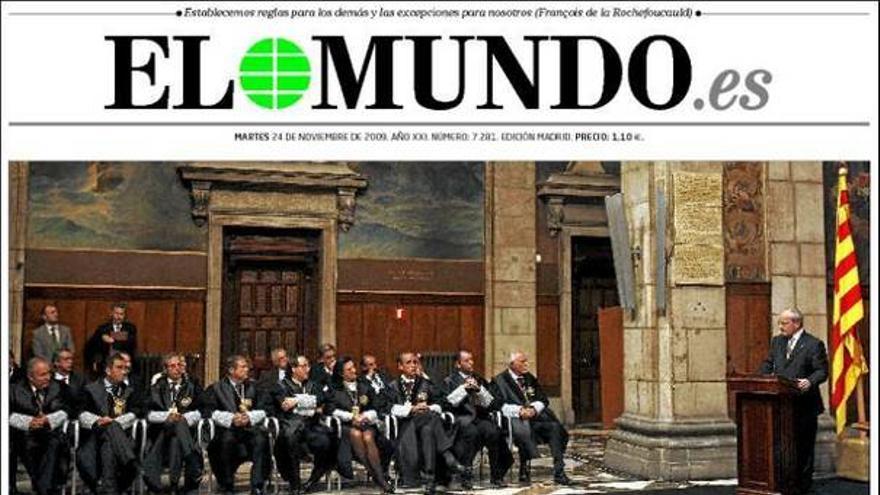 De las portadas del día (24/11/09) #7