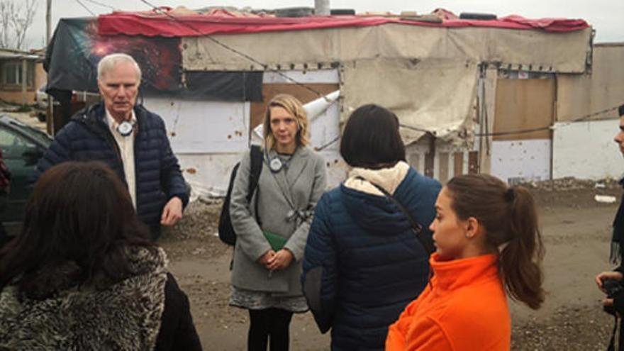 El Relator de la ONU, Philip Alston, en una visita para conocer de primera mano cómo afecta la pobreza extrema a la población gitana en España: casi la mitad (46%) de las personas gitanas viven en situación de extrema pobreza