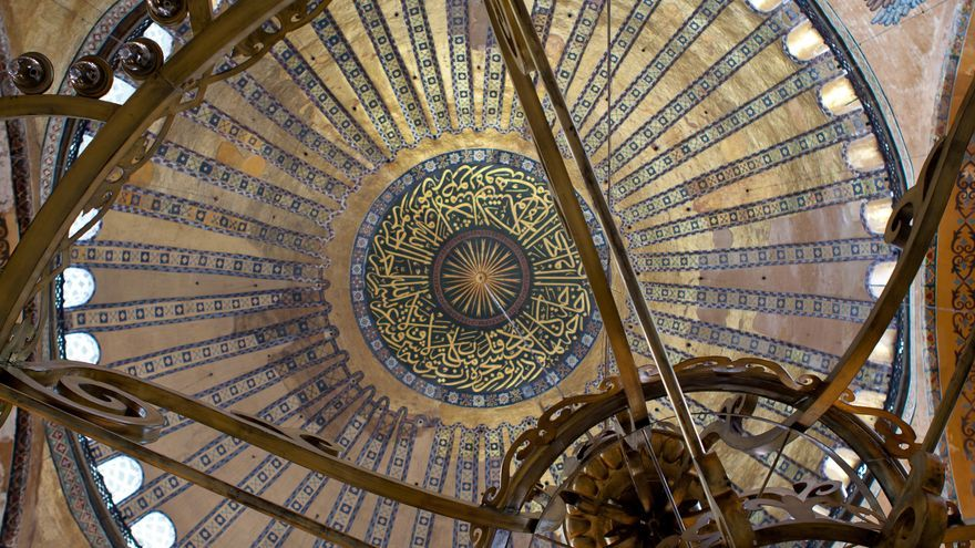 Cúpula de la Basílica de Santa Sofía.