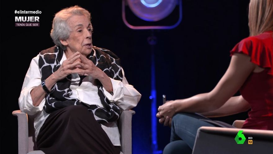 Sandra Sabatés entrevistó a Colita en 'El Intermedio'