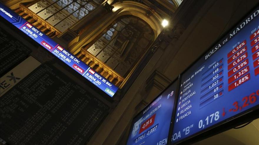 La caída del bono alemán eleva la prima de riesgo española a 153 puntos