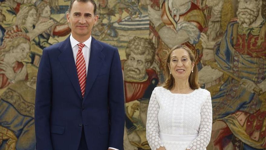 El Rey se reunirá el lunes con Pastor tras la investidura fallida de Rajoy