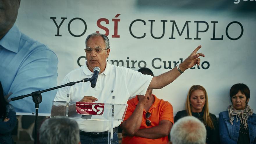 Candidato ASG al Cabildo y Parlamento, Casimiro Curbelo