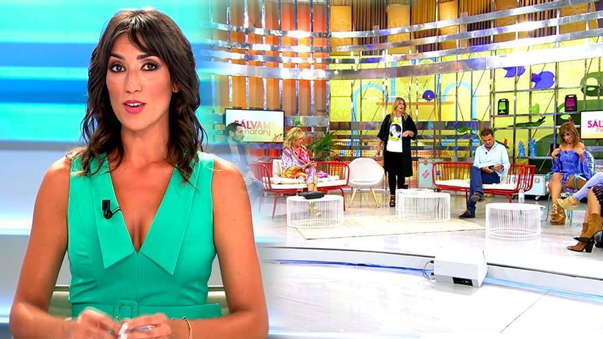 Patricia Pardo en 'El programa del verano', y 'Sálvame'
