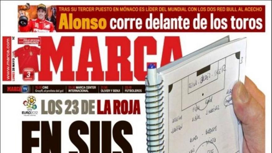 De las portadas del día (28/05/2012) #12