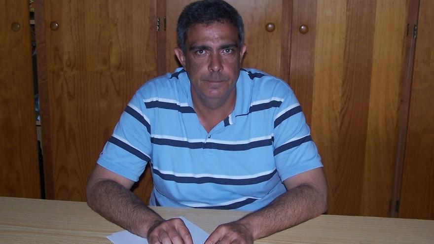 Juan Miguel Rodríguez Acosta, coordinador local de Nueva Canarias (NC) en Tazacorte.