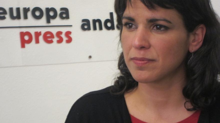 """Teresa Rodríguez contará con la """"participación activa"""" y el asesoramiento de Pablo Iglesias durante la campaña"""