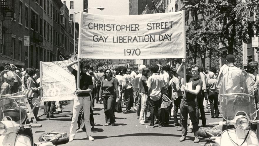 Primera manifestación Christopher Street Liberation Day