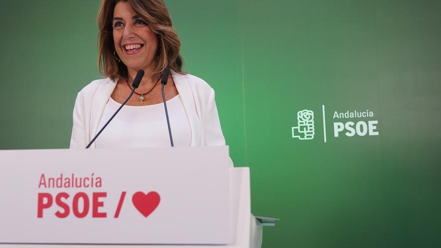 Susana Díaz pide unidad a la militancia del PSOE-A para recuperar la Junta frente a quienes plantean su relevo