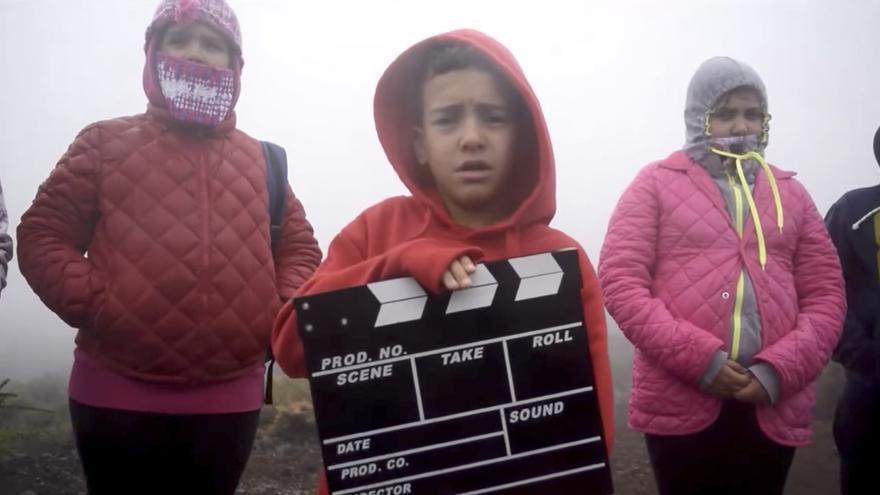 Una secuencia del spot de la III Muestra de Cine Secuencia 27.