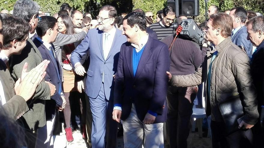 Rajoy destaca su apuesta por Andalucía y garantiza que continuará en el futuro