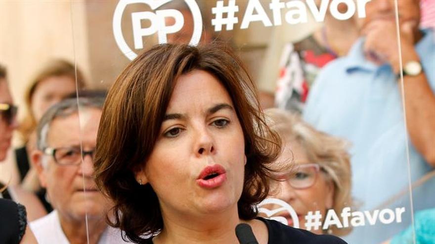 Sáenz de Santamaría: Iglesias cuestiona la responsabilidad en las urnas de los españoles