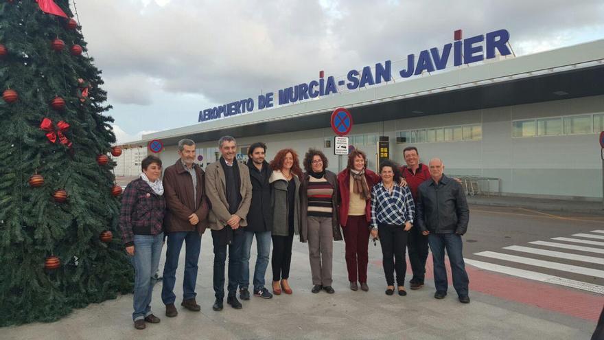 Julio Rodríguez ha visitado Cartagena este Sábado