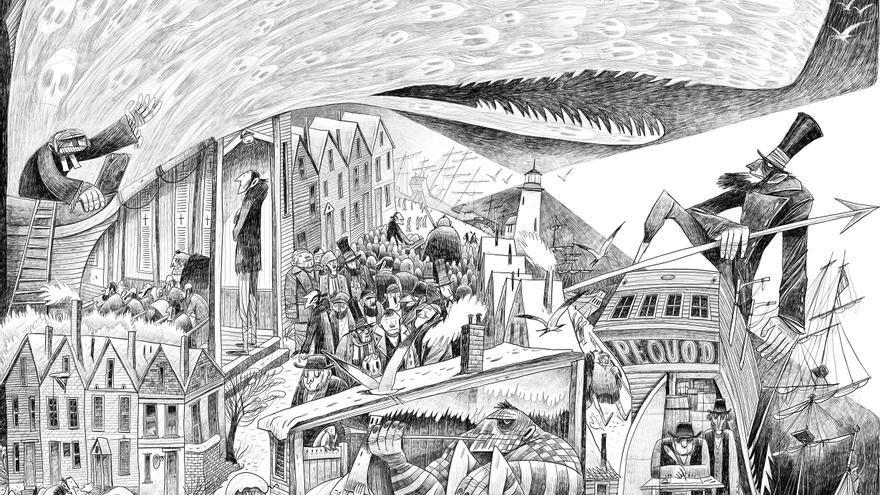Moby Dick, de Sergio García