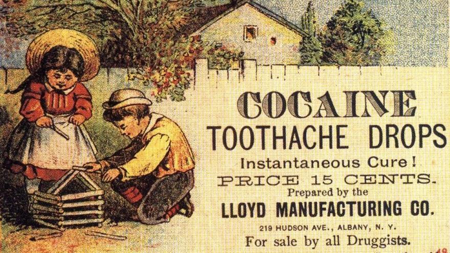Cocaína para niños. /Wikicommons