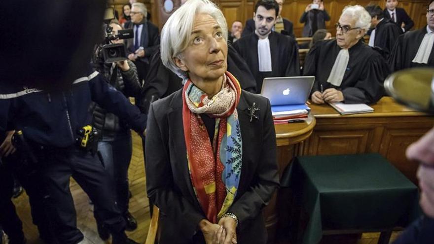 Lagarde, durante el juicio.