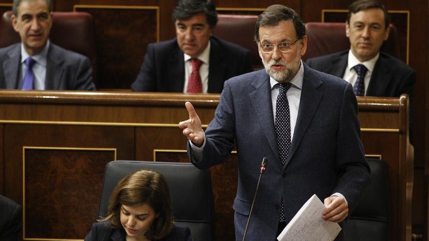 Rajoy evita hablar en el Congreso sobre la situación de Ignacio González y Villarejo