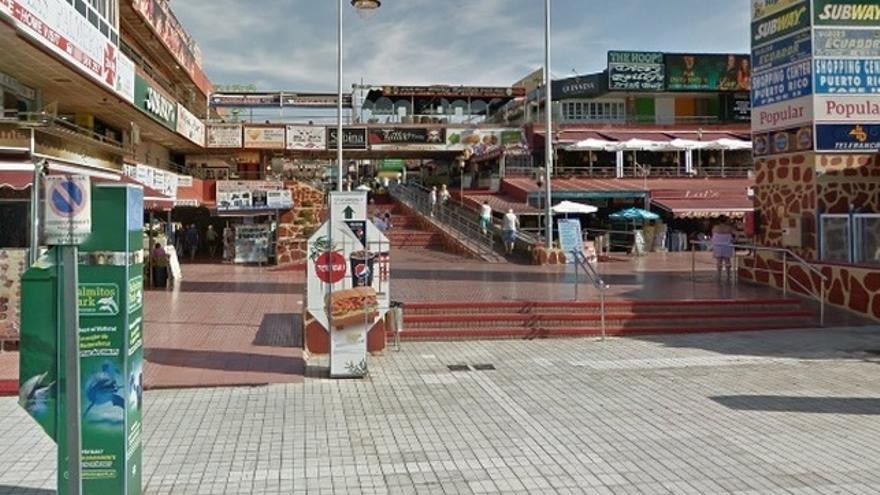Centro Comercial de Puerto Rico en Mogán