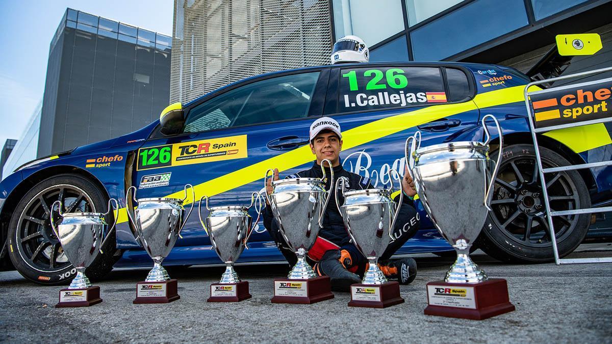 El cordobés Isidro Callejas en el TCR Spain