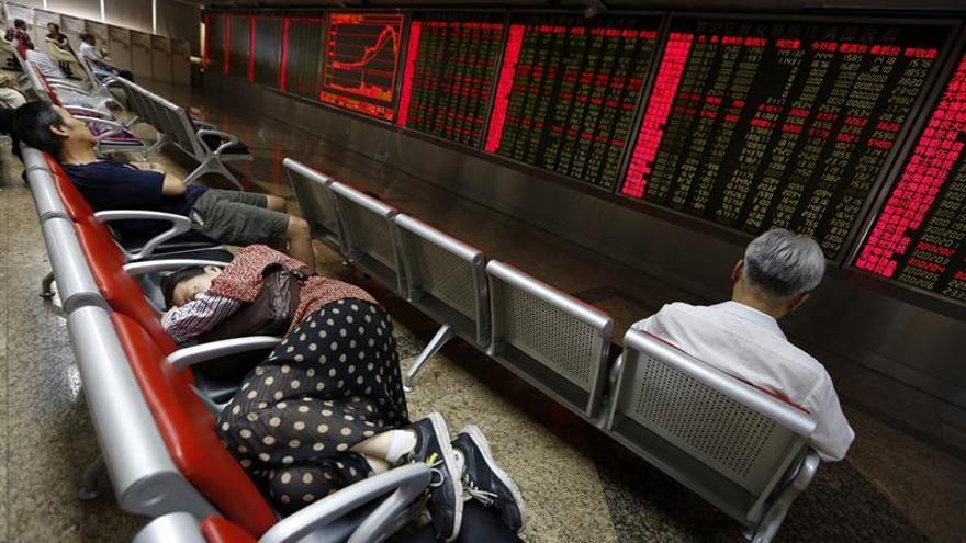 La Bolsa de Shanghái pierde un 0,11 por ciento al cierre