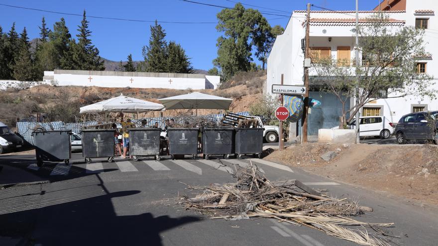 Detenidos dos vecinos de Tunte que participaron en las barricadas contra los migrantes por un delito de incitación al odio