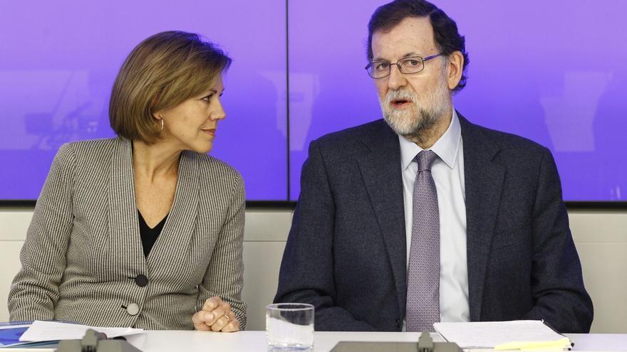 Rajoy y Cospedal eluden ante el Comité Ejecutivo del PP cualquier mención a Bárcenas y el 'caso Gürtel'