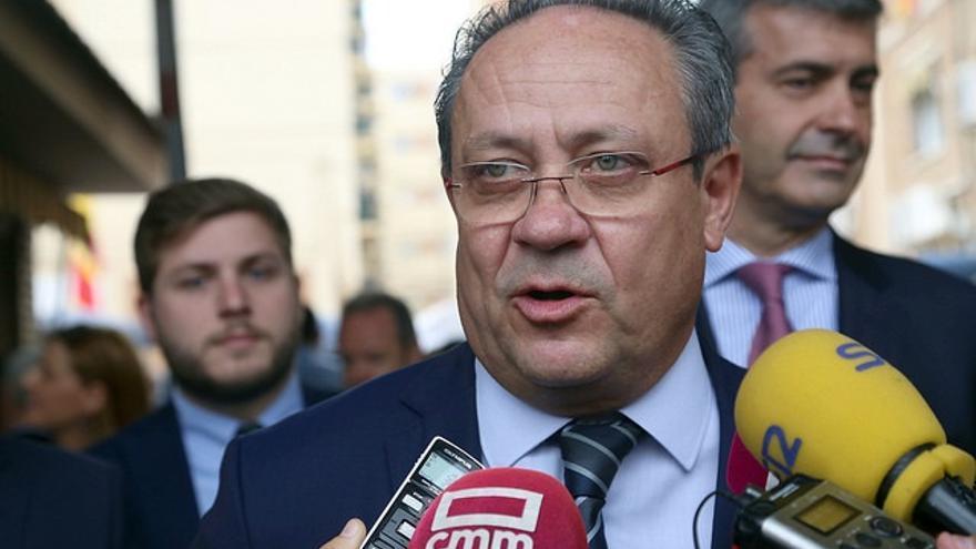 Juan Alfonso Ruiz Molina, consejero de Hacienda de Castilla-La Mancha