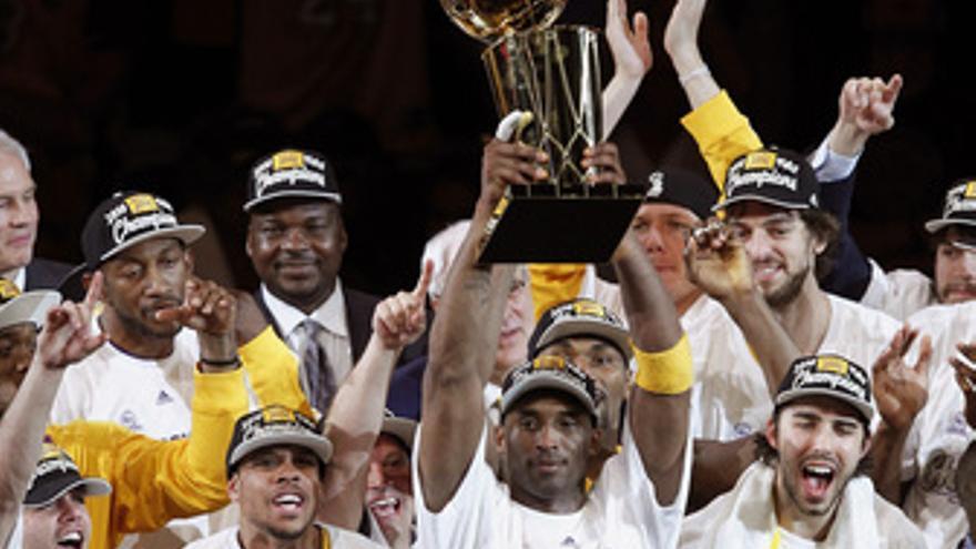 Los Angeles Lakers, campeones 2010