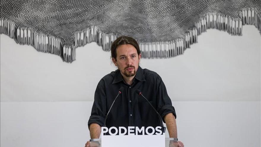 Iglesias traslada a Rajoy su voluntad de colaborar con el Gobierno