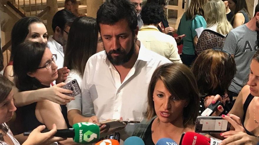 La diputada gallega de EU-IU Yolanda Díaz asume la portavocía rotatoria de En Marea en el Congreso