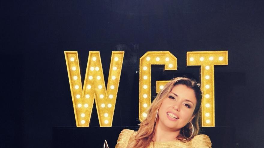 Cristina Ramos, en una imagen promocional de World´s Got Talent
