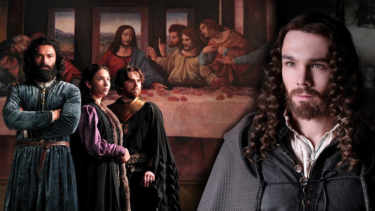 'Leonardo' con Aidan Turner, Matilda De Angelis, Freddie Highmore y Carlos Cuevas